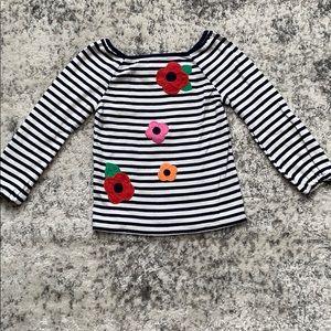 Toddler girls Gymboree striped shirt